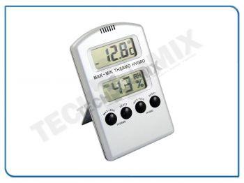 HIGROTERMOMETR ELEKTR. – 06 917 (- 10˚C do + 40˚C, wilgotność 25-95%, dokładność +/- 1 ˚C, +/- 3%) do pomieszczenia